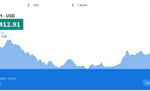 Dash criptovaluta (DSH/USD): +46% in due settimane