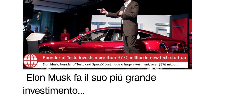 Elon Musk Investe in Bitcoin Code. Truffa o verità? - Guadagnare sul Forex