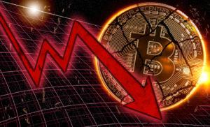 Bitcoin, Ethereum e Ripple crollano tra il 15 e 25 percento. Forti cali su tutte le criptovalute altcoin