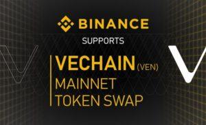 Binance supporterà VEN Mainnet Swap e aggiunge la coppia di trading VEN / USDT