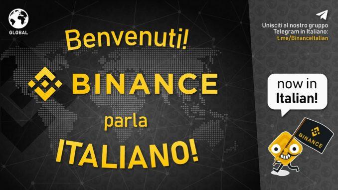 uno dei più grandi exchange al mondo di bitcoin, ripple, ethereum e oltre 1.000 tra token e criptovalute è ora disponibile in italiano!