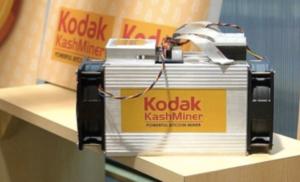 Kodak Bitcoin Mining Rig Kashminer Stopped by SEC