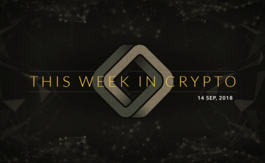 This Week in Cryptocurrency: September 14, 2018